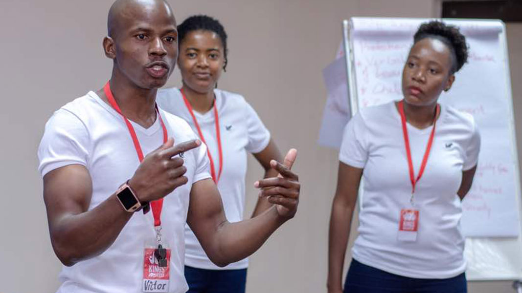 our global community staff delivery activities in botswana