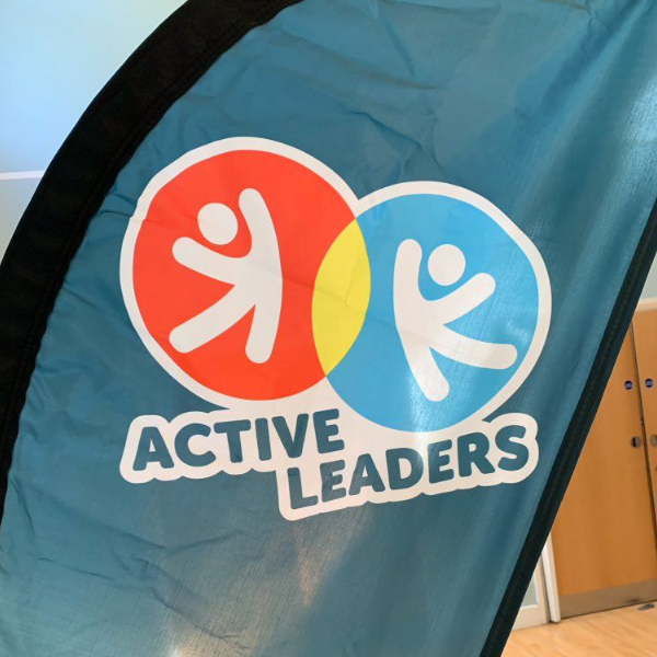 active leaders fin flag